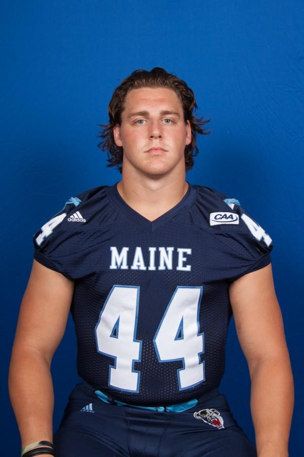 University of Maine defensive tackle Kris Enslen