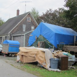 Rockland goes to court to stop man from storing flea market items on residential property