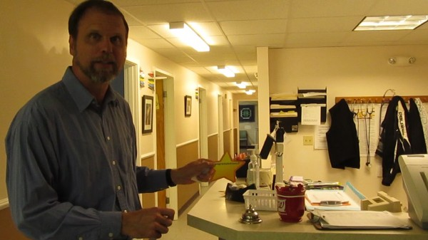 Thomas Bartol, a nurse practitioner at Richmond Area Health Center, created the Star Program two years ago, which has helped some 400 patients at the clinic lose more than 7,800 pounds.