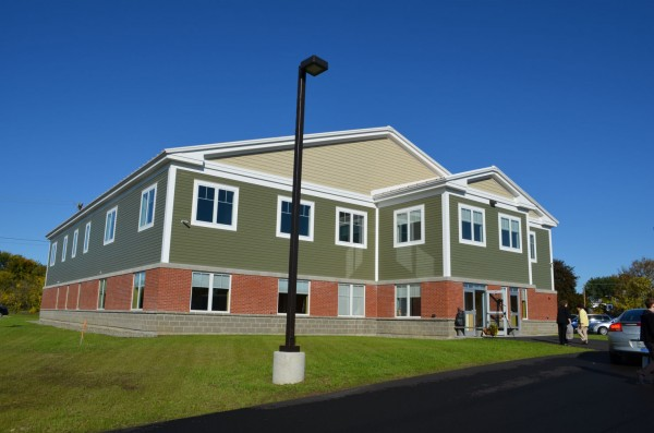 The Mid Maine Homeless Shelter opened on Colby Circle in Waterville on Monday, Oct. 8, 2012.