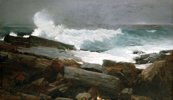 &quotWeatherbeaten,&quot by Winslow Homer, on display at the Portland Museum of Art through the end of the year.