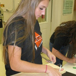 Girls' gathering to stress building trades