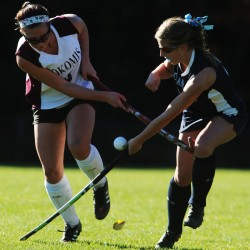Nokomis field hockey knocks off defending state champion Leavitt
