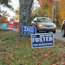 House hopeful says 135 signs stolen in County