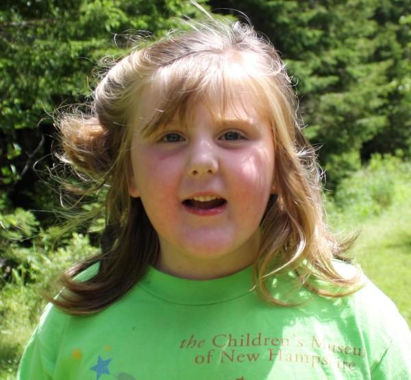Eliza Sprague, 6, of Mount Desert.
