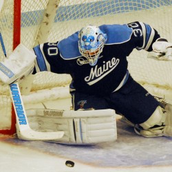 UMaine men's hockey benefited from strong goalie play