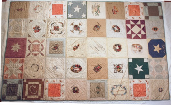Staff at the Bangor Museum are delving into research to discover more about the ladies of First Church and Parish who stitched this quilt in 1844 in Bangor.