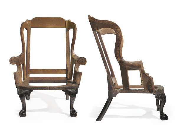 The circa 1760-1765 Chippendale carved mahogany easy chair sold for $1.16 million recently at Christie's New York.