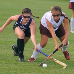 Belfast twins help field hockey team beat Bapst in E. Maine semifinal