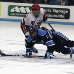 St. Lawrence pounds struggling Maine hockey team