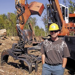 Mechanical problems are all in a day's work in the Maine woods