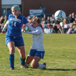 Ashland girls edge Easton in overtime; boys team battle to 1-1 tie