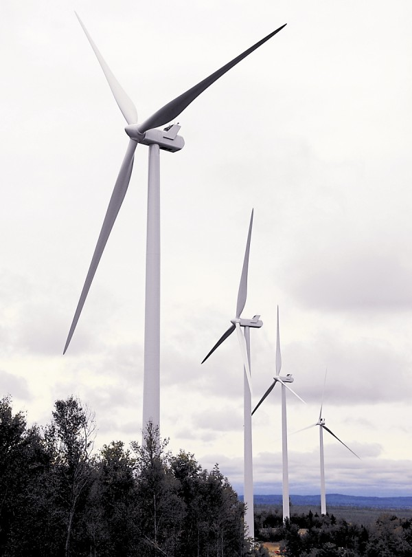 Adapting to the changing times, Waltham-based Elliott Jordan & Son has done contract work for the Township 16 wind-turbine project being completed by First Wind.