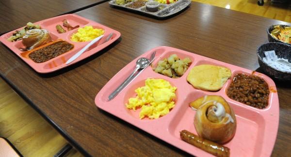 The 2012 Hunter's Breakfast at the Dedham School Saturday morning.