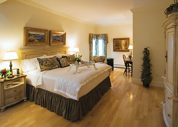 Belfast Bay Inn's well-appointed Room No. 301 room carries their highest rate of $388 during the summer.