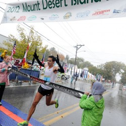 Late entrant Krajewski, Herr record wins at MDI Marathon