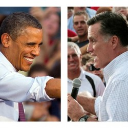Romney closes gap with Obama in five swing-state polls