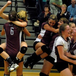 Washington Academy, Calais to meet for Class B state volleyball title Saturday at Husson