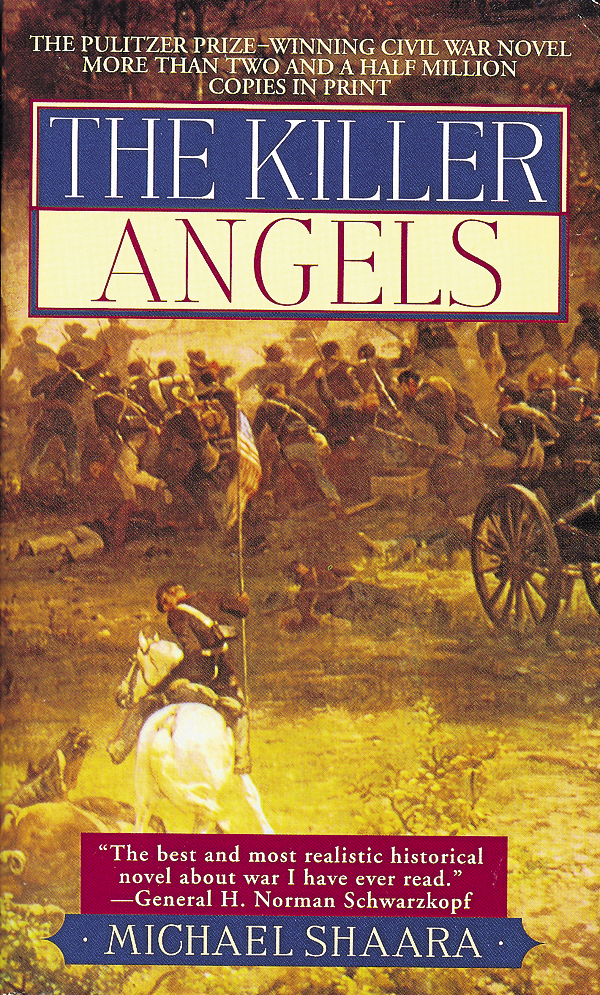 "Michael Shaara wrote the best-selling novel ""The Killer Angels,"" which transitioned into film as the movie ""Gettysburg."""