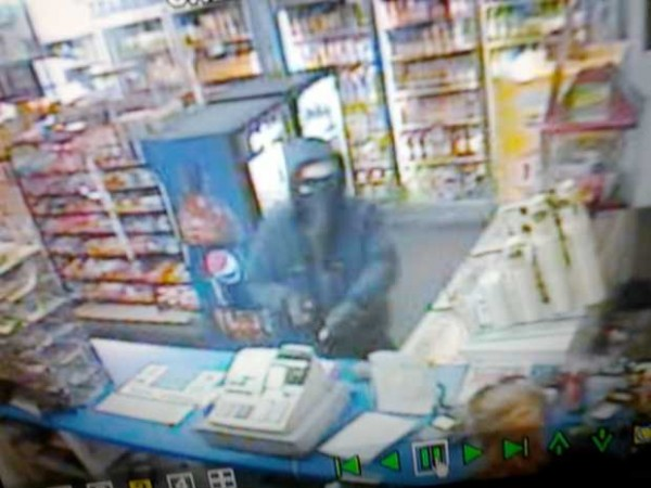 Auburn Police are looking for a white male who robbed Wheeler's Market on South Main Street on Saturday night.