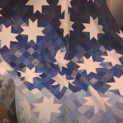 Handmade Quilt made by the Zonta Club in Bangor