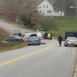 State police tactical team at Wilton standoff