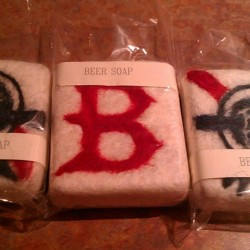 Here are just a few of the homemade Beer &quotfelted&quot soaps we make & design .We also offer Vegan soap & homemade Goat Milk Soap