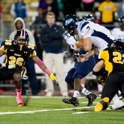 No. 17 Towson survives resilient UMaine football team