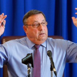 LePage salutes wreath caravan from Maine to Arlington National Cemetery