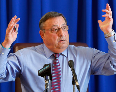 With Maine's Medicaid program short of money, Gov. Paul LePage plans to drop people from the rolls.