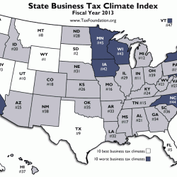 National report: Maine's business tax ranking improves slightly