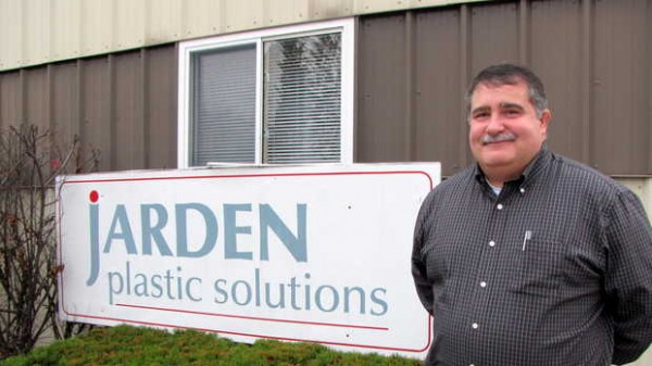 Steve Veilleux, general manager of Jarden Plastic Solutions, a division of the international Jarden Corp., was one of five to recently earn a Chairman's Award of Merit in New York City for his work at the East Wilton plant. &quotIt's a tribute to the people in the plant,&quot he said. &quotThey brought me to where I am today.&quot