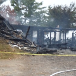 Fire destroys First Baptist Church in Pembroke
