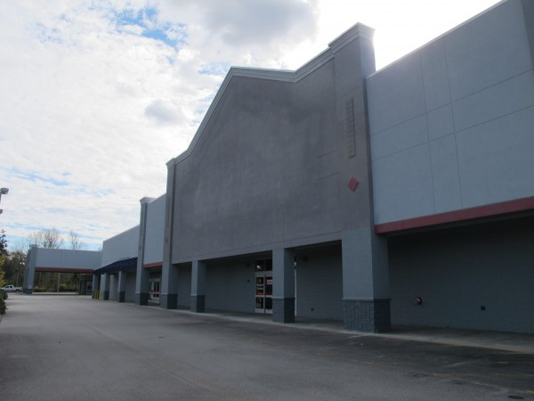 The 140,000-square-foot former Lowe's building in Ellsworth.