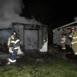 Friendship shed destroyed after 3 youths burn books