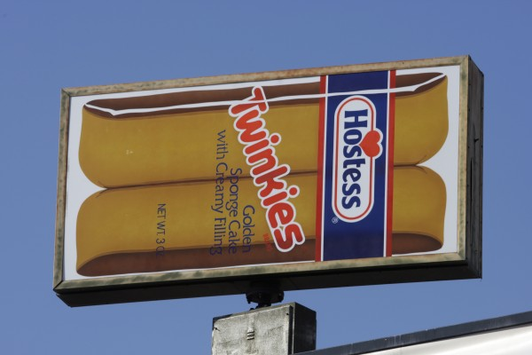 A Hostess Twinkies sign is shown at the Utah Hostess plant in Ogden, Utah, Thursday, Nov. 15, 2012.