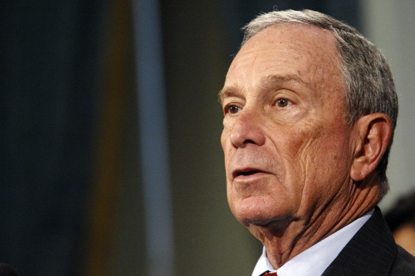 New York Mayor Michael Bloomberg speaks to the media during a news conference in New York in this file photo taken October 26, 2012.