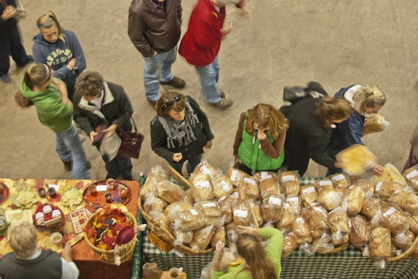 Daily Bread of Levant was just one of many vendors at the 2011 Maine Harvest Festival.