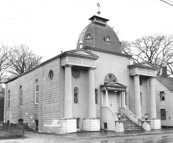 Congregation Beth Israel Synagogue is shown in September 1955.