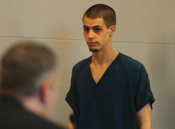 Zachary Carr walks into a Penobscot County Judicial Center courtroom on Thursday, June 30, 2011.