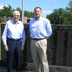 Community gifts mark Bangor WWII Memorial 'paid for'
