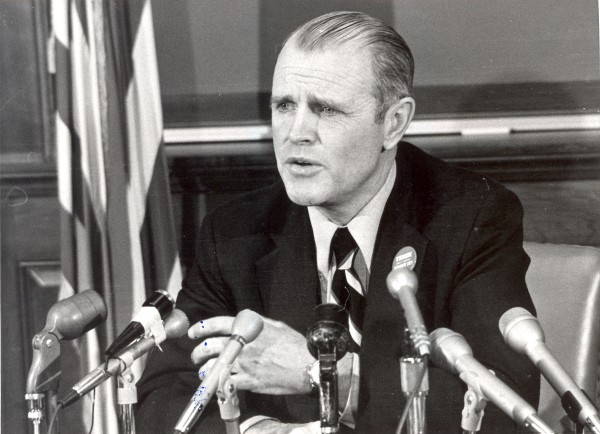 James B. Longley, Governor of Maine in Jan. 1975.