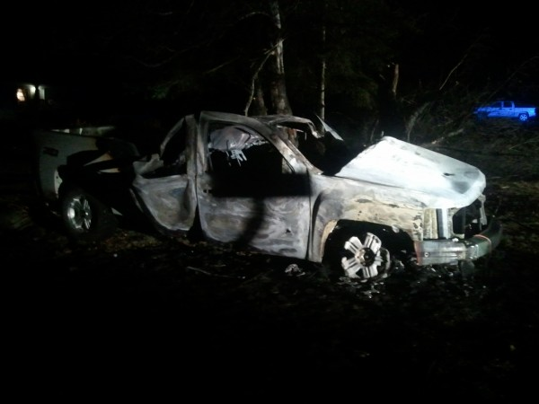 Micah Bartlett suffered burns to 70 percent of his body after a single-vehicle accident Sunday night. Nov. 18, 2012 in Orient. He is currently being treated for his injuries in Boston.