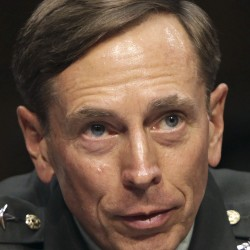 Petraeus' affair was with his biographer