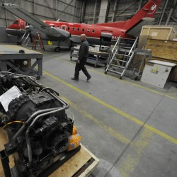 Expanding C&L Aerospace buys up 14 Saab aircraft to fix up, resell at Bangor hub