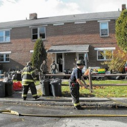 Apartment complex fire in Westbrook displaces more than 40 residents