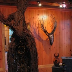 'Encounters' exhibit at Maine Fiberarts
