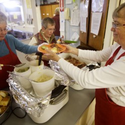 Strong donations, new volunteers give struggling food bank hope for brighter 2013