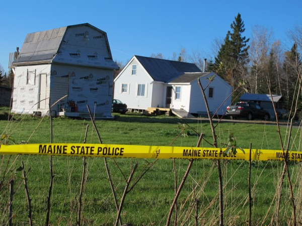 The Tilden family home at 16 Bobolink Lane in Lamoine on Wednesday, Oct. 24, 2012. Police say Leon Tilden, 27, killed his father and uncle outside the home on early in the morning on Tuesday, Oct. 23, before Tilden was shot dead by police later that morning in an armed encounter.