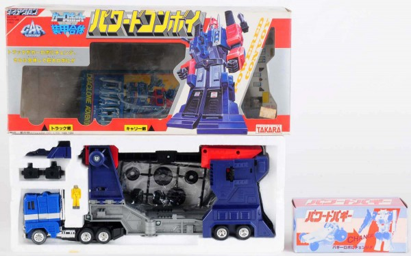 The Takara Diaclone Big-Powered Convoy toy from the 1960s brought $10,800 when Morphy Auctions sold a collection of Japanese die-cast robots this fall.